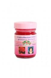 Тайский бальзам-мазь для растирания с розовым маслом.
