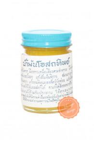 Традиционный желтый тайский бальзам Ват Пхо.