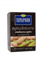 Мыло от пигментации с тамариндом.  Supaporn Tamarind Herbal Soap.