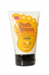 Крем для ног с экстрактом банана. Banna Cracked Heel Cream Banana.