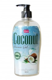 Крем-гель для душа с экстрактом кокоса. Banna Coconut Shower Gel.