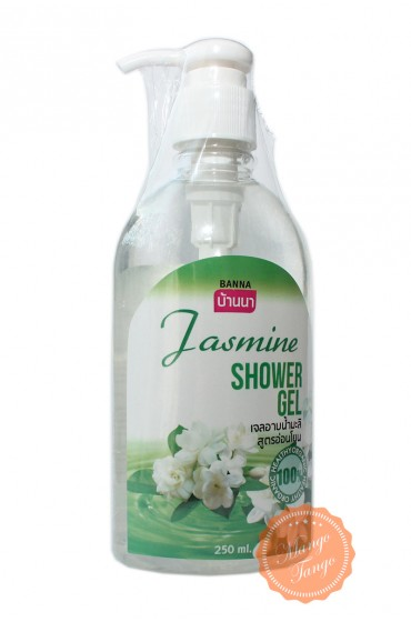 Гель для душа с ароматом жасмина. Banna Jasmine Shower Gel.