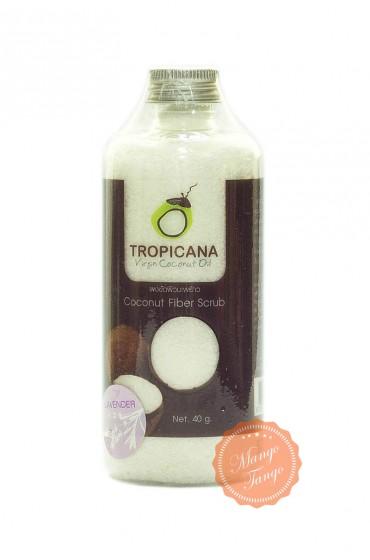 Сухой скраб Tropicana из мякоти кокоса и эфирного масла лаванды.