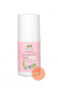 Травяной роликовый дезодорант с мангостином и гуавой Abhai. Женский аромат.