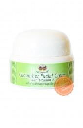 Огуречный крем с витамином Е. Cucumber Facial Cream Abhai.