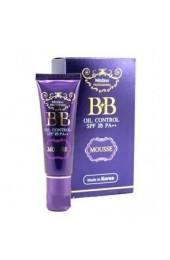 BB мусс с контролем жирности кожи и защитой от солнца. BB Mistine oil control