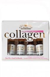 Сыворотка с коллагеном, экстрактами огурца, центеллы и алоэ. Natural Extract collagen.