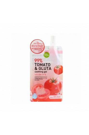 Увлажняющий, отбеливающий гель экстрактом томата. Baby Bright Tomato&Gluta Gel.