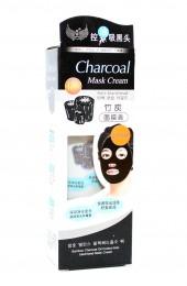 Чёрная маска-плёнка для чистки пор. Charcoal Mask Cream Anti-Blackhead.
