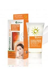 Солнцезащитный крем SPF50, PA+++ Poompuksa.