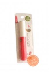 Блеск для губ с улиточной слизью. Цвет №2 Cutie Pink.  Baby Bright Lip Snail Gloss.