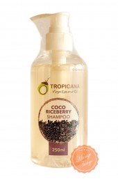 Укрепляющий шампунь Tropicana экстрактом тайского чёрно-фиолетового риса.