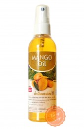 Массажное аромамасло для тела Banna Манго. Aroma body oil Mango Banna.