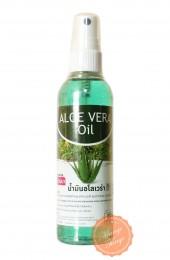 Массажное аромамасло с экстрактом алоэ. Aroma body oil Aloe Banna.