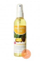 Массажное аромамасло для тела Banna Ананас. Aroma body oil Pineapple Banna.