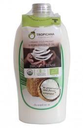 Кокосовое масло первого холодного отжима Тропикана 500 мл. Tropicana virgin coconut oil.