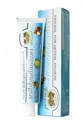 Натуральная зубная паста с кожурой мангостина. 100 грамм.