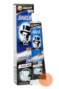 Зубная паста Darlie Charcoal White с бамбуковым углём.