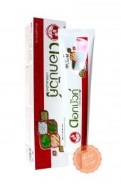 Уникальная зубная паста Твин Лотус для чувствительных зубов. Twin Lotus Dok Bua Ku Sensitive.