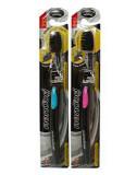 Зубная щётка с бамбуковым углём. Антибактериальный эффект. Твин Лотус.