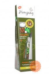 Тайская комплексная зубная паста 14 трав Homjang Popular.