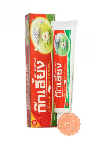 Зубная паста Kokliang на натуральных экстрактах.