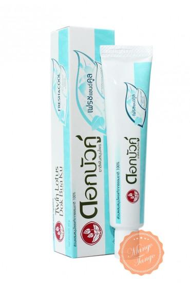 Растительная освежающая зубная паста с костью каракатицы, ментол, 30 грамм