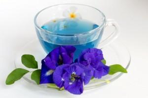 Удивительный синий чай...