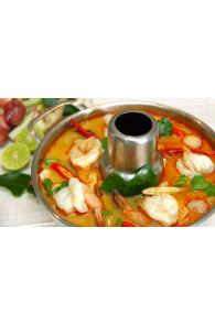 Набор ингредиентов для тайского супа Том Ям.