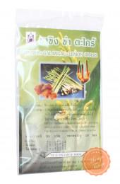 Тайский чай имбирь, галангал, лемонграсс.